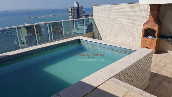 Cobertura Com 5 Dormitórios À Venda, 290 M² Por R$ 1.500.000,00 - Praia Da Costa - Vila Velha/es - Co0009