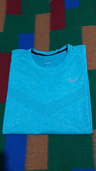 Buzo Termico Nike Running En Excelente Estado . Talle (l) .