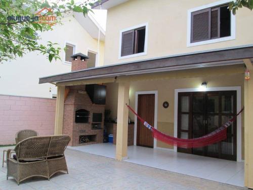 Casa Com 3 Dormitórios À Venda, 168 M² Por R$ 750.000 - Parque Califórnia - Jacareí/sp - Ca3629