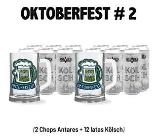 12 Latas 473 Ml Kölsch Antares Cerveza Artesanal + 2 Chops
