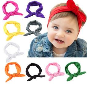 10 Tiaras Turbantes Laço Infantil Bebêmeninas