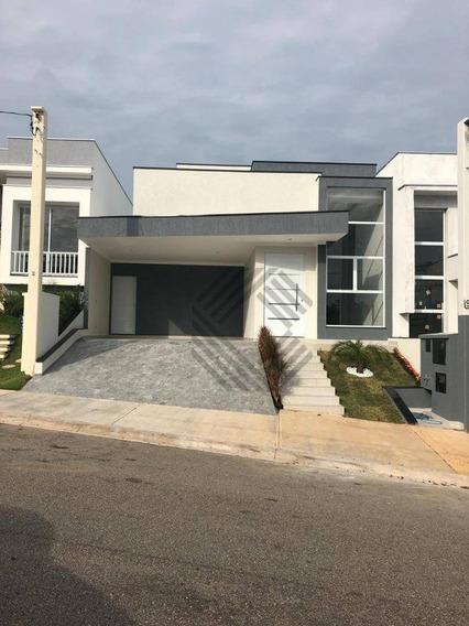 Casa Térrea Com 3 Suítes, Sendo 1 Suíte Master À Venda, 142 M² Por R$ 560.000 - Condomínio Villagio Milano - Sorocaba/sp - Ca6335