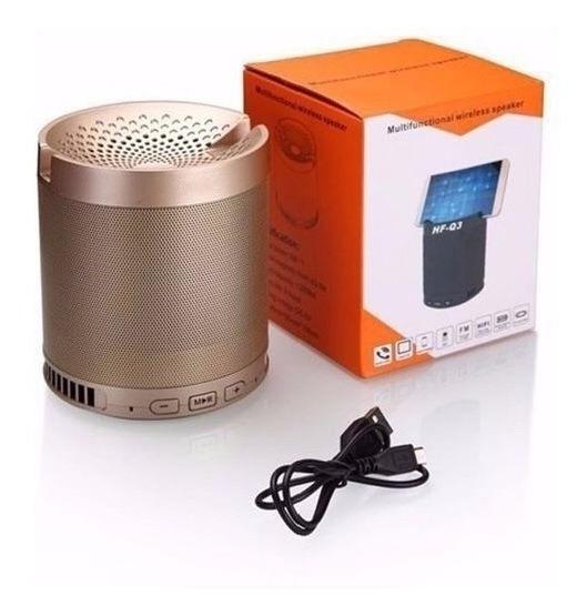 Caixa Som Q3 Bluetooth Usb Sd Radio Fm Portatil Wireless