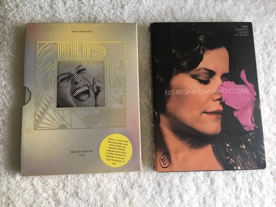 2 Box Dvd - Elis Regina (frete Grátis)