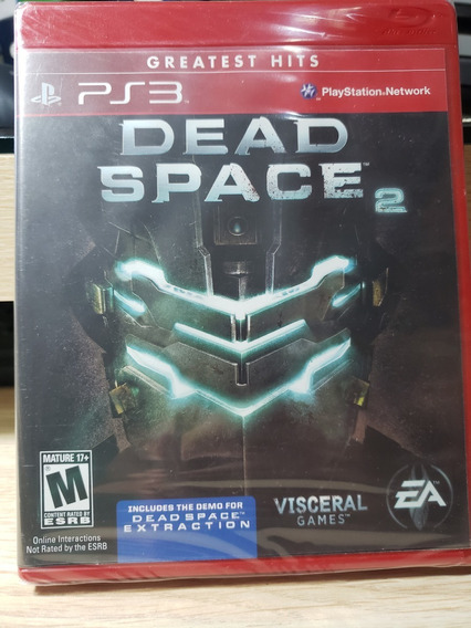 Dead Space 2 Greatest Hits Ps3 Mídia Física Nova E Lacrada!