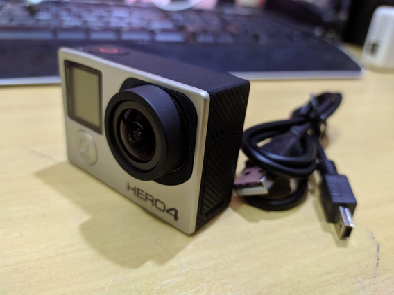 Gopro Hero 4 Black Edition 100% Original 4k Câmera De Vídeo