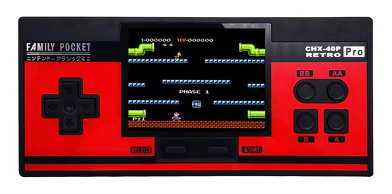 Magideal Preto , Jogos Retro Handheld Vídeo Jogo Console Co