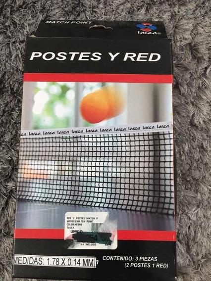 Set De Malla Y Párales Para Mesa De Ping Pong