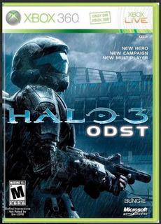 Halo 3 Odst Fisico Xbox 360