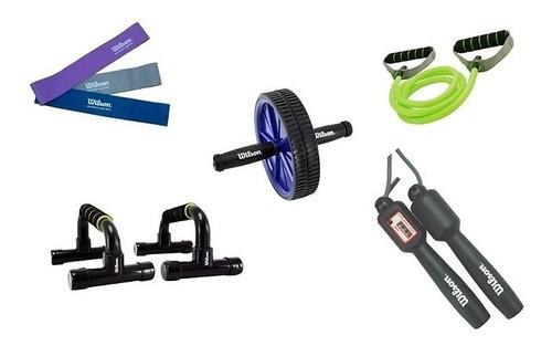 Imagen 1 de 2 de Combo De Fuerza Y Resistencia De Ejercicio Gym Yoga Crossfit