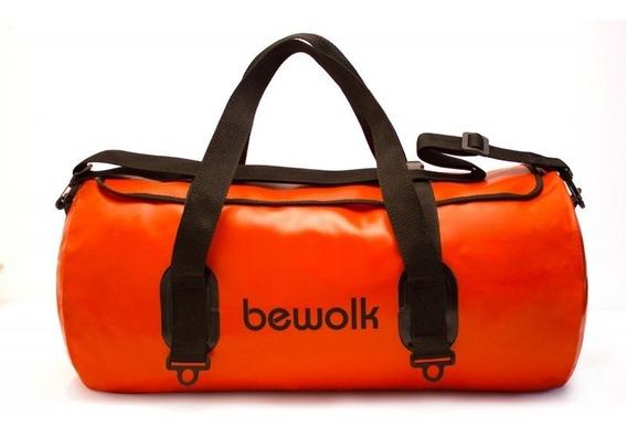 Bolso Estanco Bewolk 25 Litros Impermeable 47cm X 25cm
