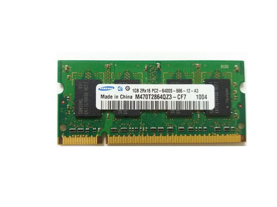 Memória Para Notebook 1gb Ddr2 800mhz Pc2-6400 (1x1gb)