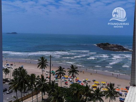 Pitangueiras - Locação Anual - Excelente Localização - Vista Para O Mar. - Ap4594