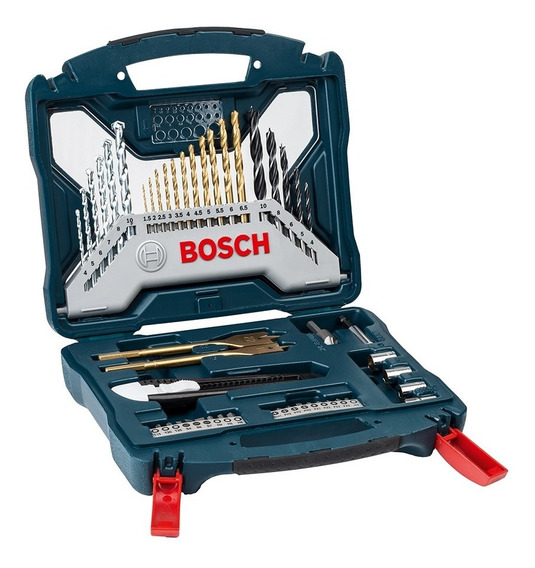Set X-line Bosch 50 Accesorios Para Perforar Y Atornillar