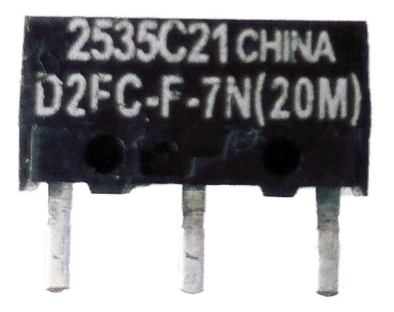 Micro-switch D2fc-f-7n(20m) 2pcs Para Todos Mouses! Consulte