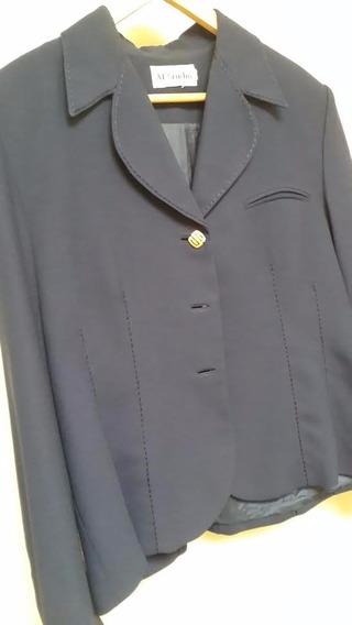 Blazer Azul-marinho - Tamanho: 44