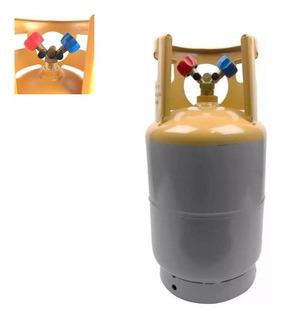 Tanque Recolhedor Recicladora Gás Refrigerante 13,6 Kg 10lbs