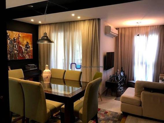 Apartamento Com 4 Dormitórios À Venda, 122 M² Por R$ 1.200.000 - Vila Ipojuca - São Paulo/sp - Ap3962