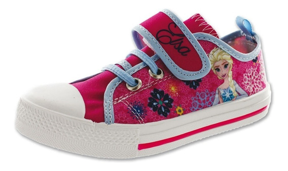 Calzado Kids Niña Tenis Disney Frozen Elsa Fiusha Casual