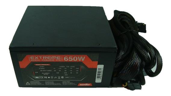 Fonte Sentey 650w Extreme Rock Power Atx12v V2.3 Erp650-ps