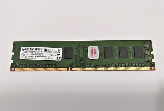 Memoria 2gb Ddr3 1333 / 1600mhz Smart Pc Original