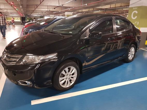Honda City Lx 1.5 Automatico 2013 Completo Couro