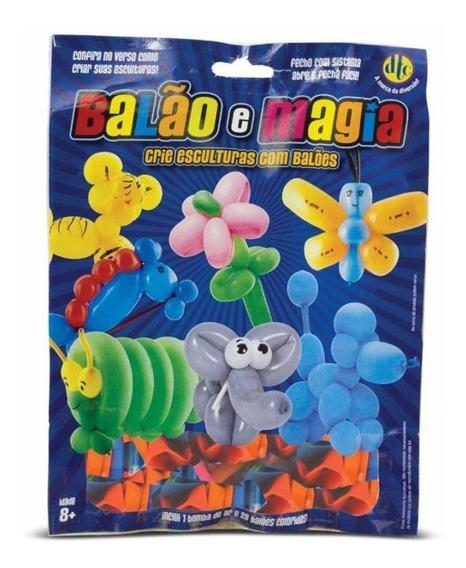 Brinquedo Balão E Magia Crie Esculturas Com Balões 3625 Dtc