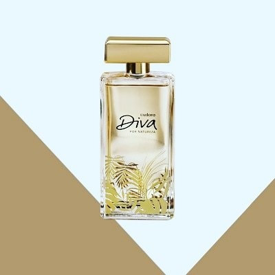 Colonia Diva Por Natureza Eudora 100ml