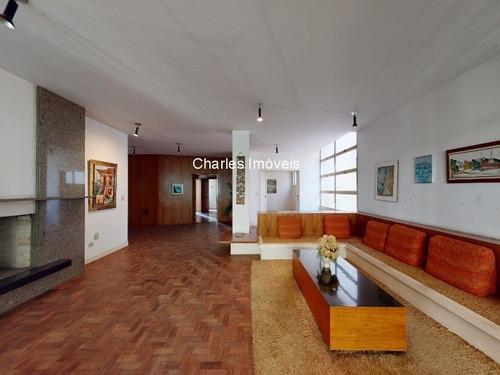 Imagem 1 de 30 de Apartamento À Venda Em Higienópolis, 442m², 4 Dormitórios, 1 Suíte, 2 Vagas De Garagem - Ap00815 - 69335175