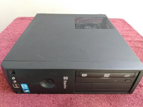 Pc Itautec Infoway I5 6gb 500gb Win7 Pro Original