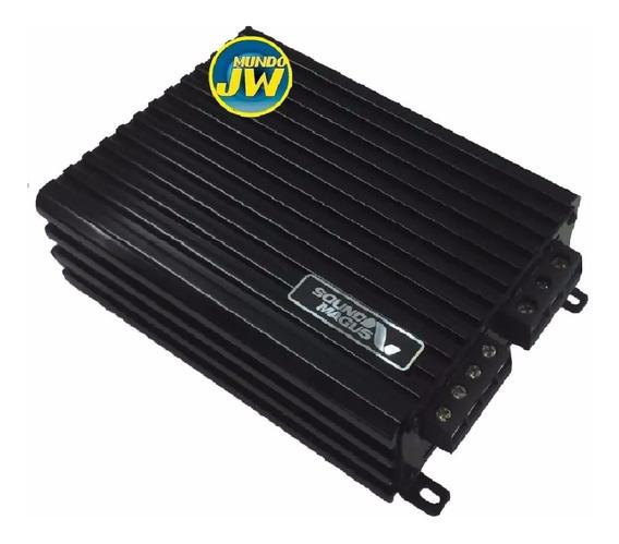 Potencia Sound Magus Dk600 600w Rms - Monoblock - Digital