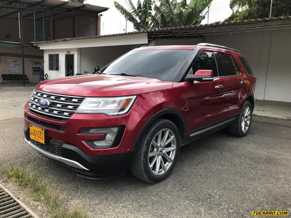 Ford Explorer Limited 7 Pasajeros 4x4