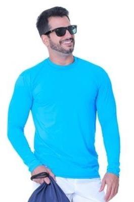 Kit 4 Camisas Com Proteção Solar Uv 50 - Camisa Uv