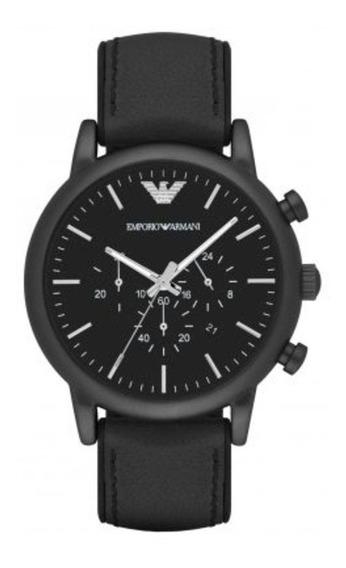 Relógio Emporio Armani Couro - Ar1970/0pn