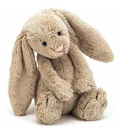 Jellycat Bashful Bunny Bunny Animal De Peluche, Mediano, 12