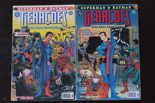 Hqs Geraçoes Dc Superman E Batman Nº1 E 2 Opera Graphica