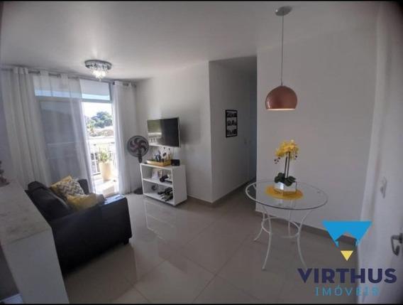 Apartamento De 2 Quartos, 1 Vaga, Vista Livre, Caminhos Da Barra - 636