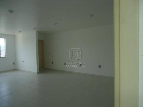 Sala Para Alugar, 52 M² - Parque Oratório - Santo André/sp - Sa0107