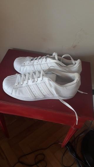 Zapatillas adidas Superstar Blancas Mujer. 25,5 Cm 39,5/ 40