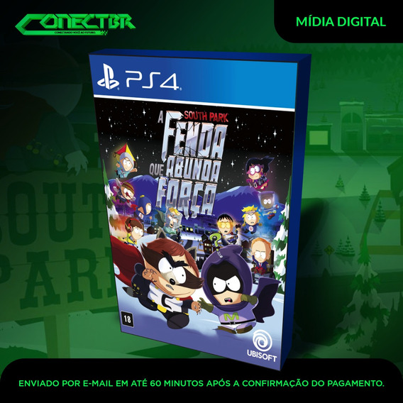 South Park The Fractured Ps4 Psn Game Digital Envio Agora!
