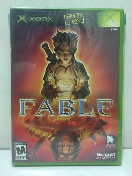 Fable Microsoft Xbox Colecionador