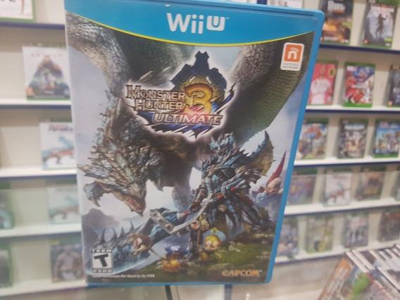 Monster Hunter3 Ultimate Usado Usa Original Nintendo Wii U.
