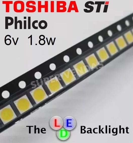 Led Smd Tv 6v 1.8w 3030 Blacklight Sti Philco _10 Peças