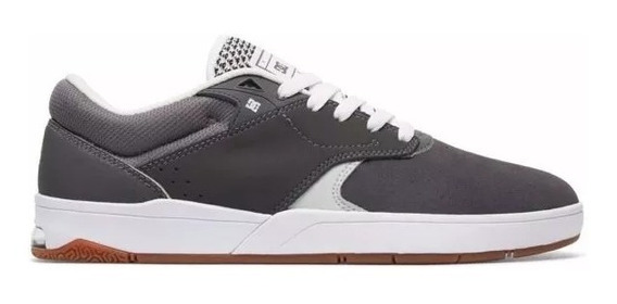 Tenis Dc Shoes Tiago S Imp Grey/white Original Frete Gratis