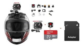 Câmera Ação Eken H9r + Controle Remoto + Cartão Micro Sd 32