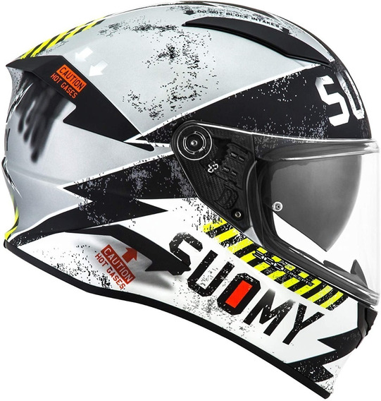 Capacete Tricomposto Suomy Speedstar Propeller Fosco
