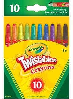 Crayola Mini Twistables Crayons 10 Pc
