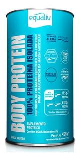 Body Protein Equaliv 450g 100% Proteína Isolada
