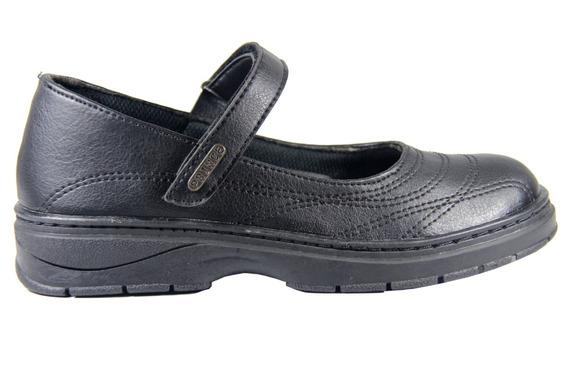 Zapato Guillermina Prince Colegial Con Abrojo 34 Al 40