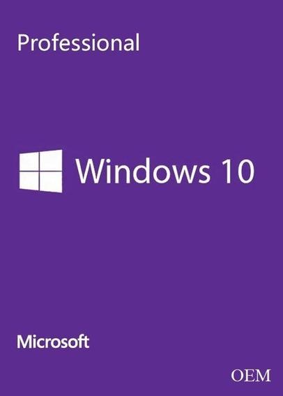 Licença Windows 10 Pro Oem Cd-key